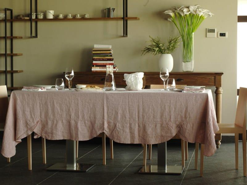 Toalha de mesa de linho ONDE | Toalha de mesa by LA FABBRICA DEL LINO