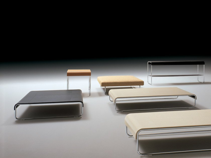 Low square coffee table ADD_LOOK   Coffee table by i 4 Mariani