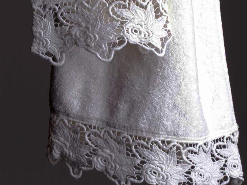 Cotton bath Towel ROSE   Bath Towel by LA FABBRICA DEL LINO
