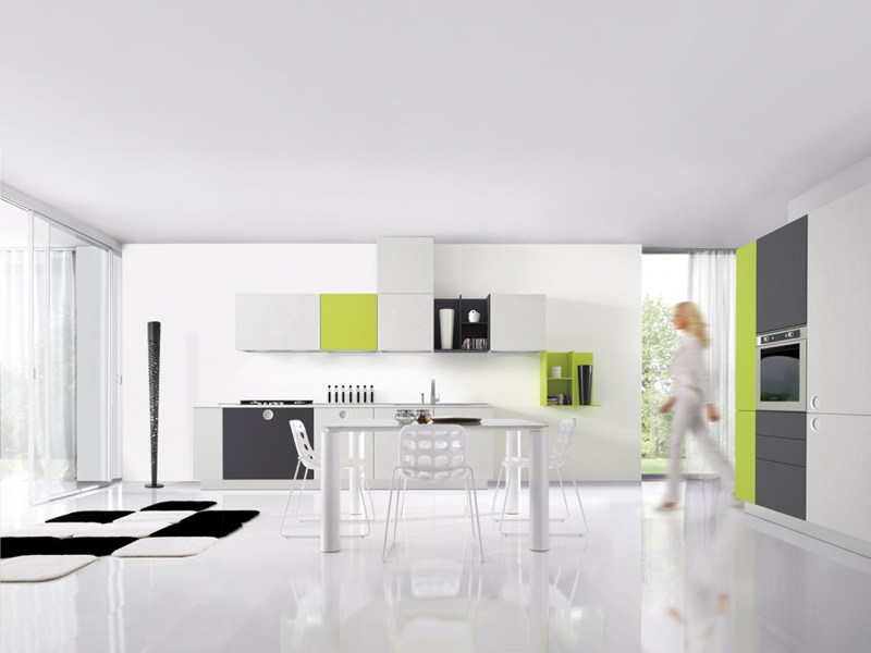 Fitted kitchen ONETOUCH by Euromobil