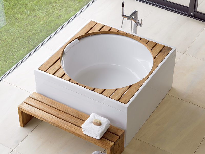 Hot tub for chromotherapy BLUE MOON | Hot tub by Duravit