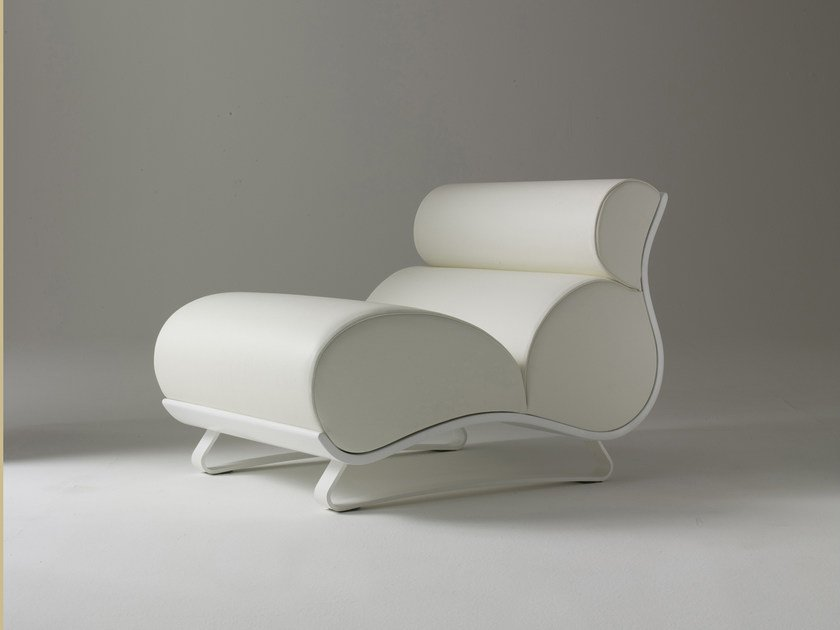 Upholstered armchair with headrest ANDROMEDA by i 4 Mariani
