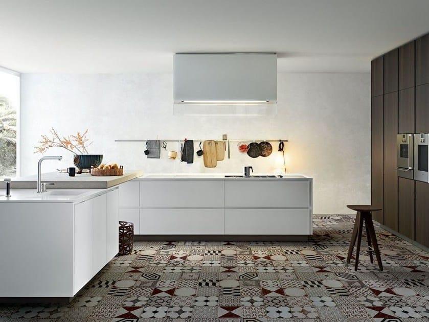Cucina laccata in legno MATRIX By Varenna by Poliform design Paolo ...