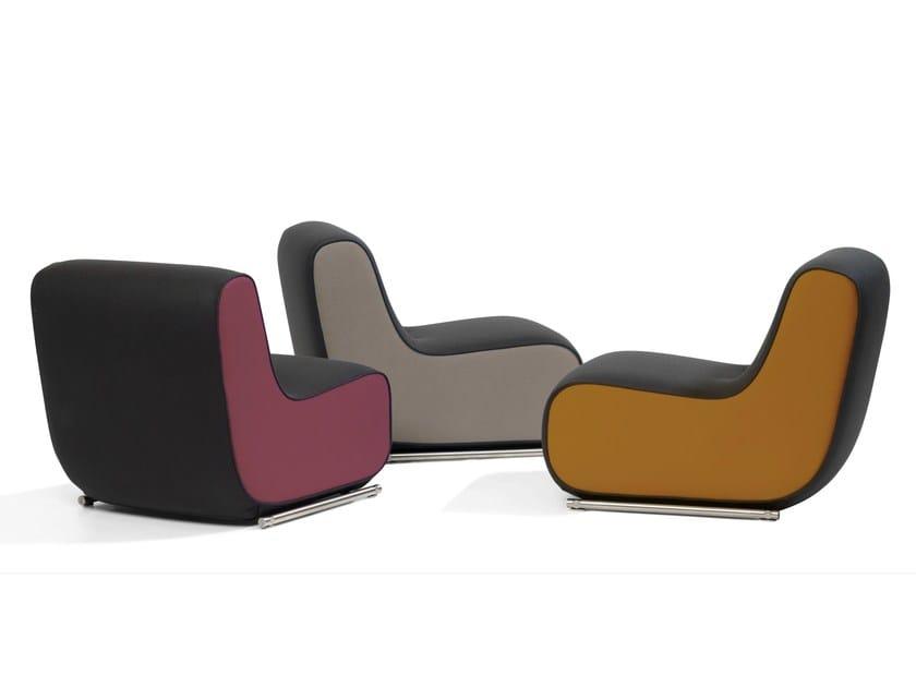 Upholstered armchair ALLY | Upholstered armchair by Blå Station