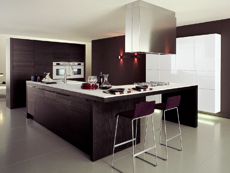 Contemporary style fitted kitchen TABULA by Euromobil