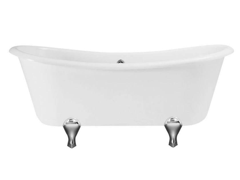 Classic style acrylic bathtub on legs BATEAU by GENTRY HOME