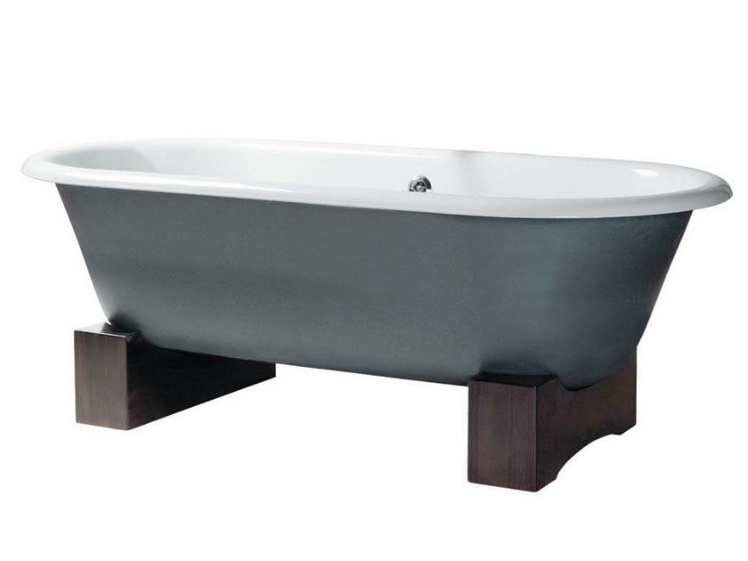 Classic style freestanding cast iron bathtub VIOLET | Freestanding bathtub by GENTRY HOME