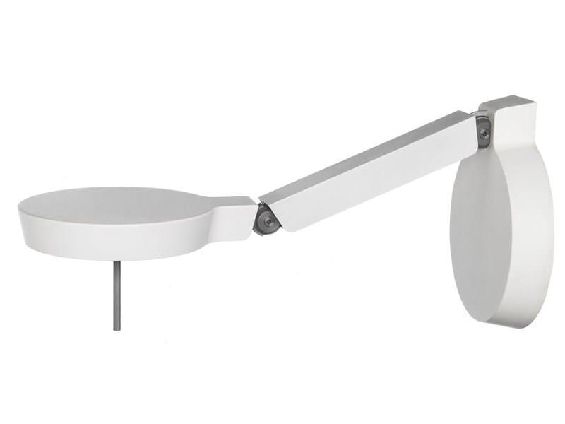 Applique a led con braccio flessibile w081w by wästberg design