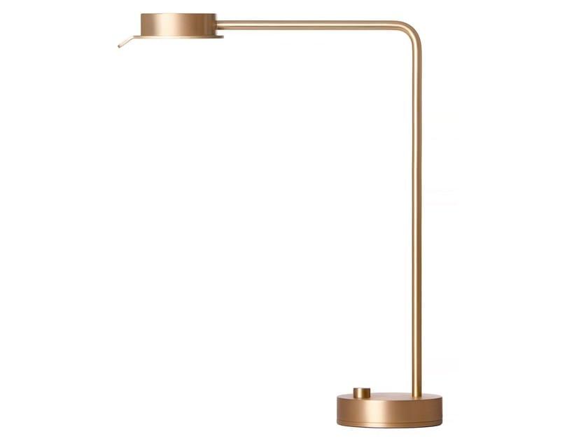 Brass table lamp W102 by Wästberg