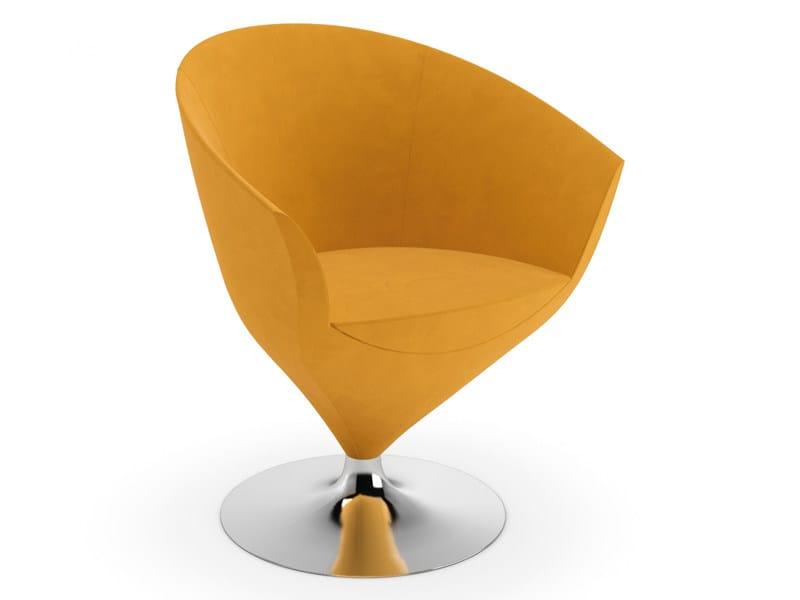 Swivel easy chair FEUSS by Cizeta