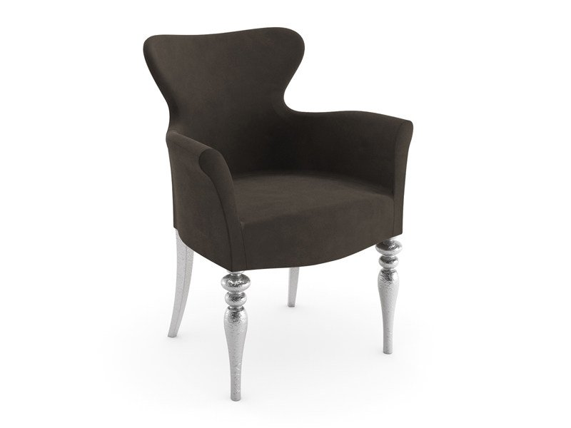 Easy chair with armrests GEISHA by Cizeta L'Abbate