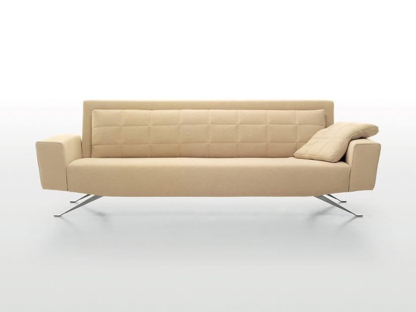 3 seater leather sofa APOLLO | 3 seater sofa by i 4 Mariani