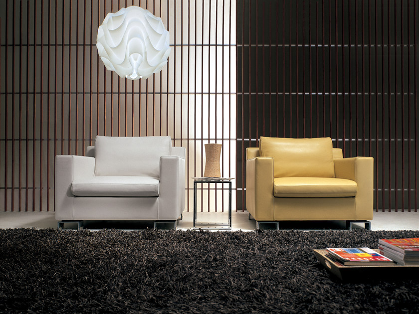 Upholstered armchair with armrests BRIDGE   Armchair by i 4 Mariani