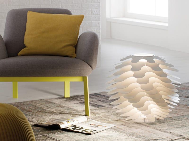 Aluminium table lamp LIBERA | Table lamp by Lucente