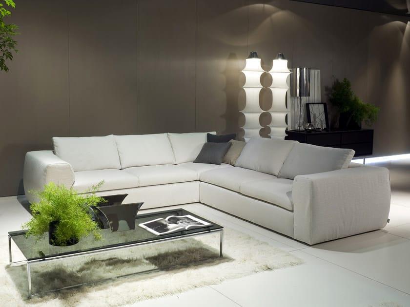 Corner sofa GLACÉ | Corner sofa by i 4 Mariani