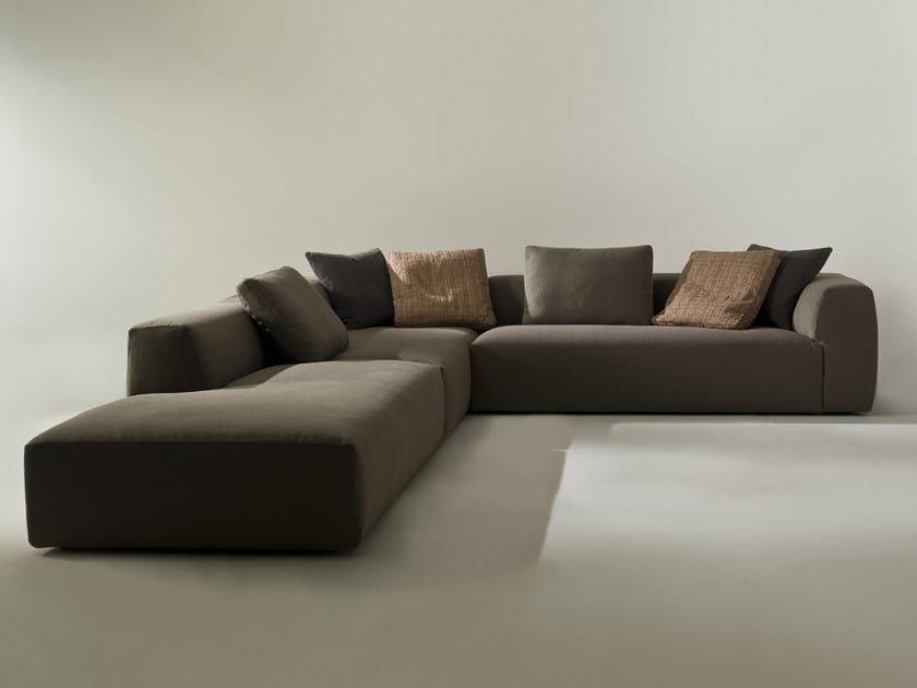 Sectional corner sofa KLUB | Corner sofa by i 4 Mariani