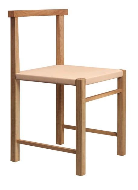 Wooden chair KARNAK by e15