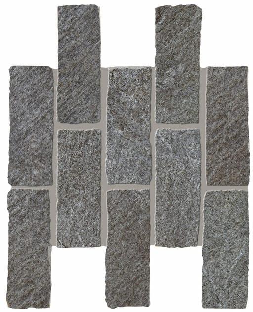 ROXSTONES Darkquartz brick 1 30x30