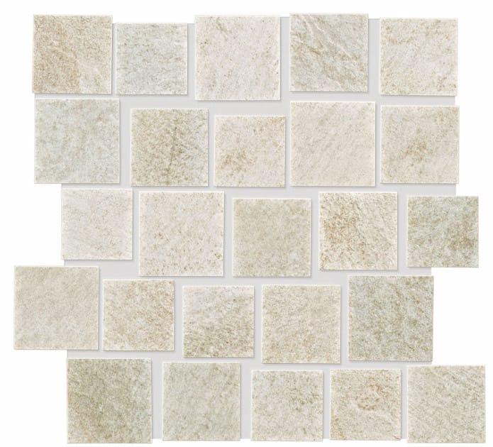 ROXSTONES Whiteequartz Brick 1 30x30