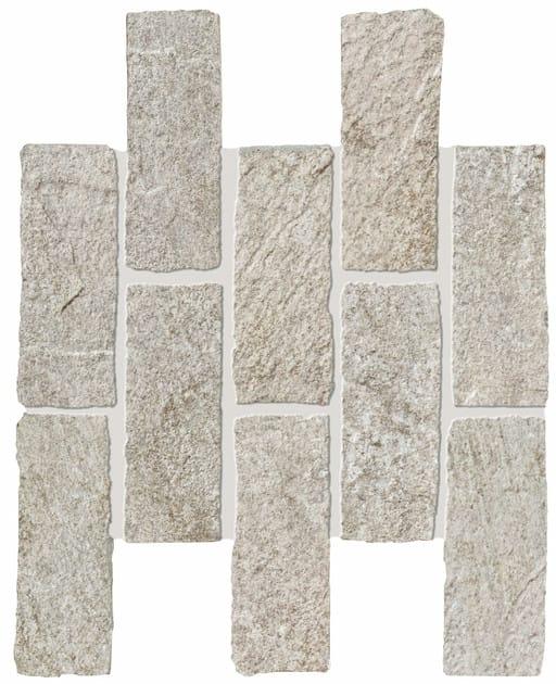 ROXSTONES Silvergray Brick 1 30x30