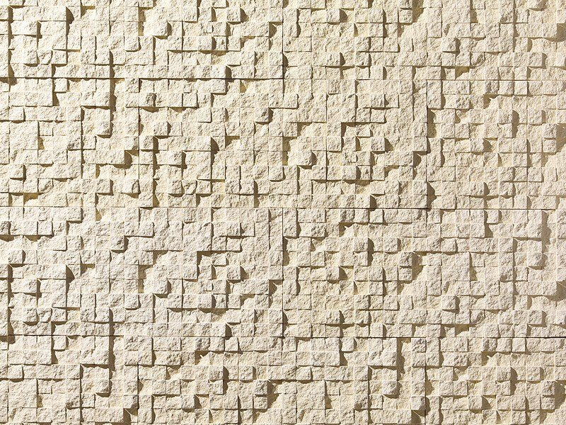 Indoor reconstructed stone 3D Wall Cladding FIRENZE by BIOPIETRA®