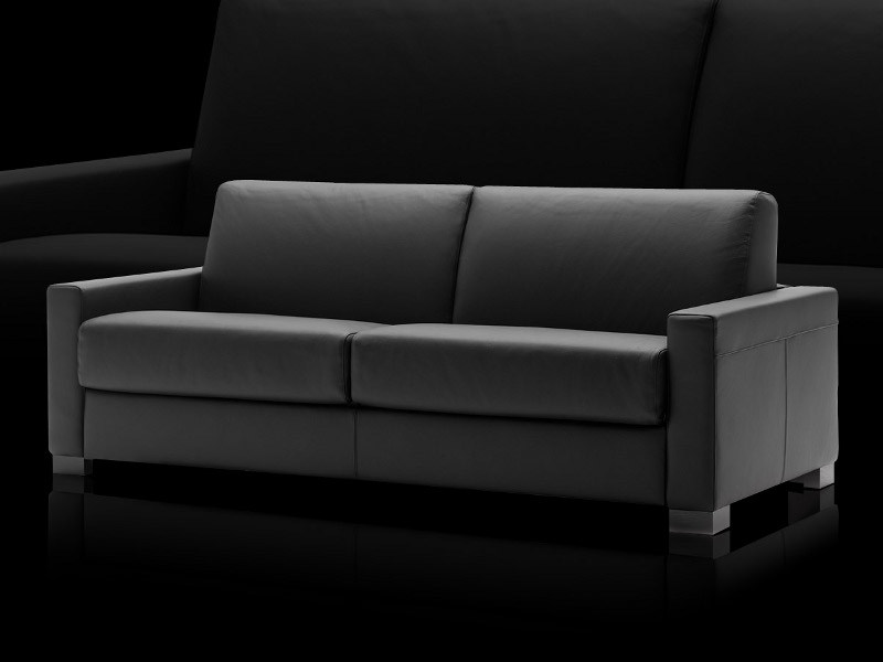Wondrous Leather Sofa Bed Cooper By Milano Bedding Andrewgaddart Wooden Chair Designs For Living Room Andrewgaddartcom