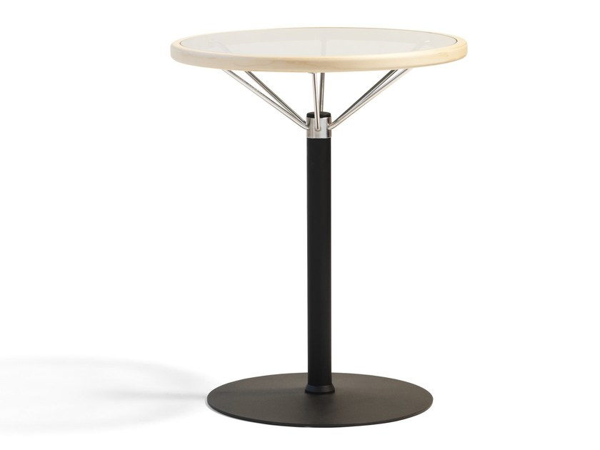 Round coffee table L1 by Blå Station