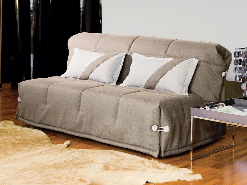Fabric sofa bed with removable cover GINGER by Milano Bedding