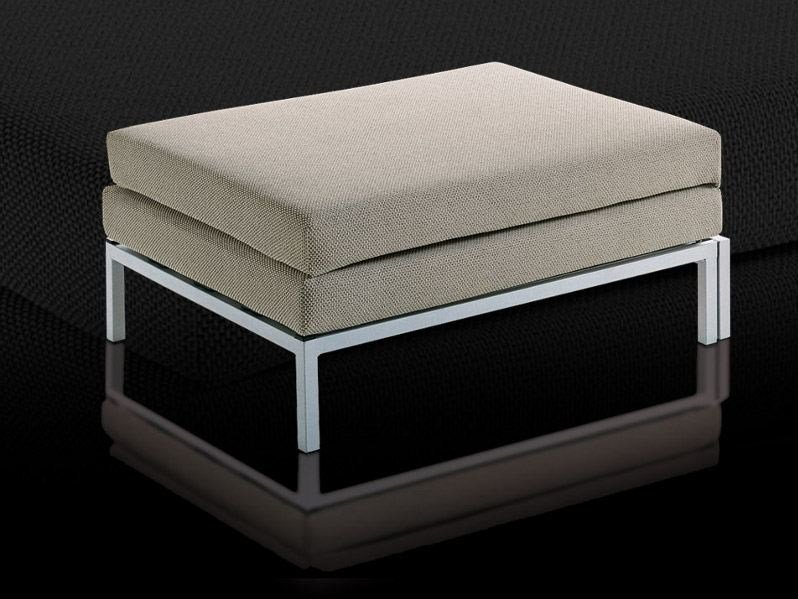 Fabric pouf bed WILLY | Pouf by Milano Bedding