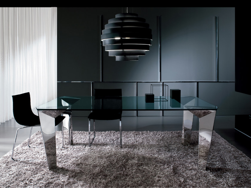 Steel living room table MESH   Table by i 4 Mariani