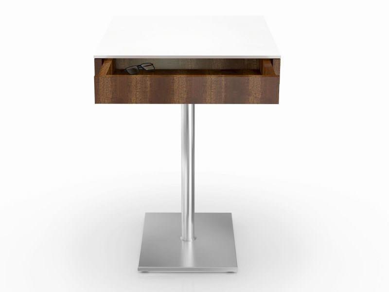 Rectangular MDF side table APOLLO | Coffee table by Ronald Schmitt