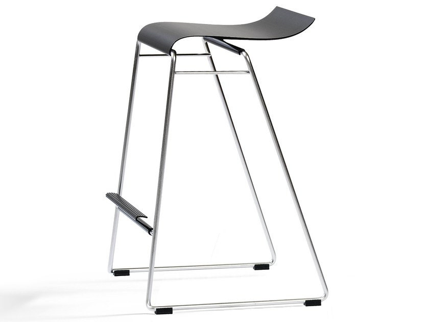 High stackable stool GECCO O33-65 by Blå Station