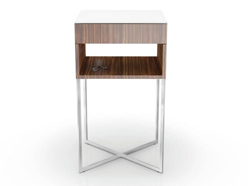 Height-adjustable modular coffee table VENUS by Ronald Schmitt