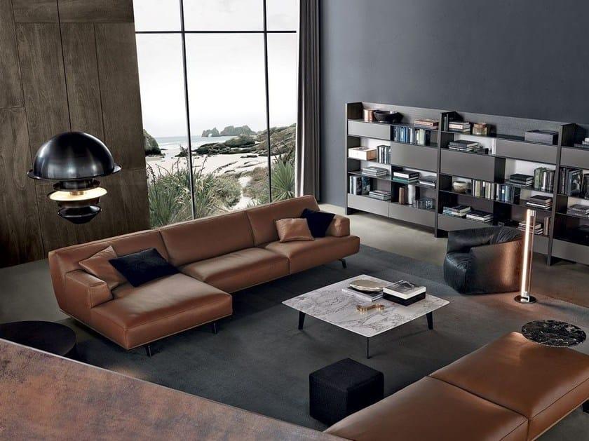 Leather Sofa TRIBECA | Leather Sofa By Poliform