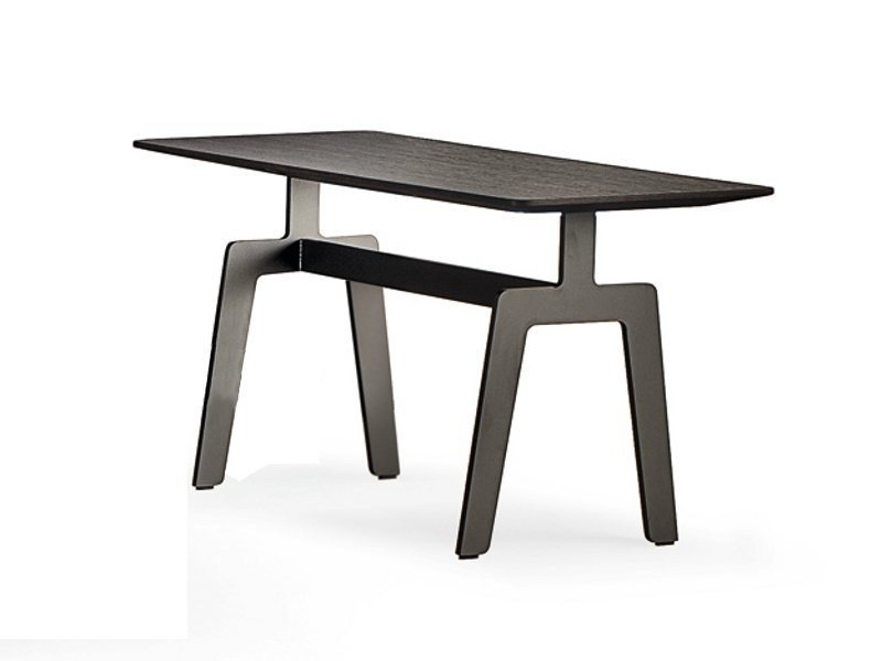 Oak coffee table for living room TRIBECA | Coffee table by poliform