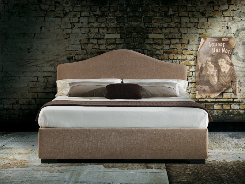 Fabric double bed SAMOA by Milano Bedding