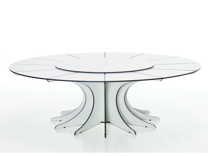 Round garden table ARTHUR by Extremis