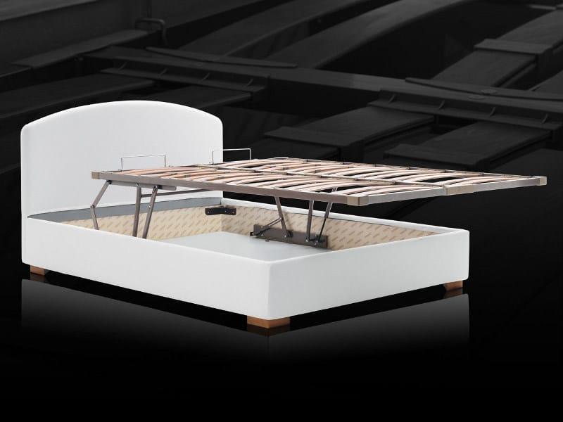 Slatted orthopedic bed base with storage KOMODO by Milano Bedding