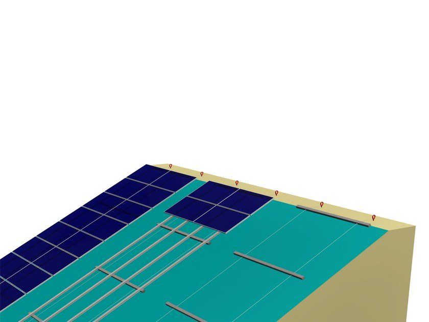 Support for photovoltaic system SKARPATA by STRUKTURE