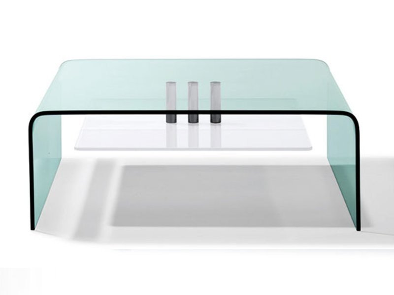 Glass coffee table K 703 | Coffee table by Ronald Schmitt