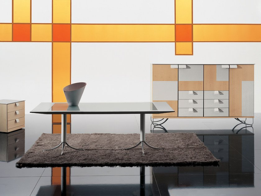 Office desk / meeting table BIRD by i 4 Mariani