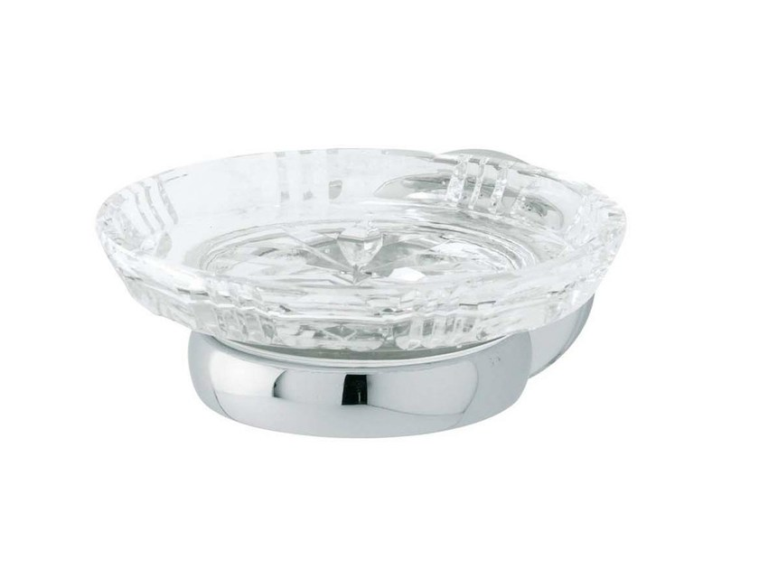 Crystal soap dish OXFORD   Crystal soap dish by GENTRY HOME