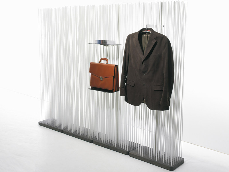 Room divider STICKS DISPLAY by Extremis