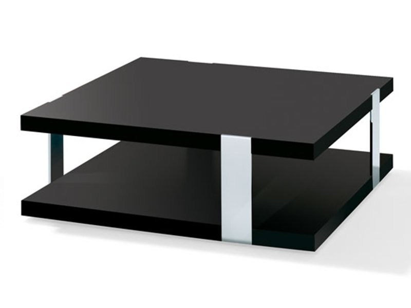 Wood veneer coffee table H 538 - 539 | Coffee table by Ronald Schmitt