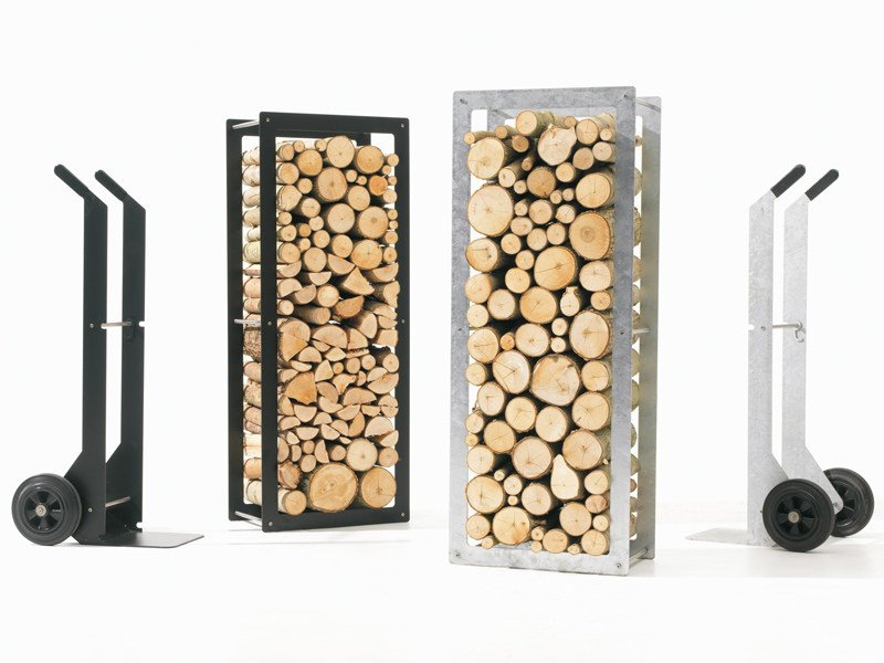 log holder woodstock by extremis design dirk wynants. Black Bedroom Furniture Sets. Home Design Ideas