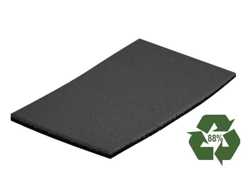 Sound insulation and sound absorbing panel dBred DUETTO by EDILTECO