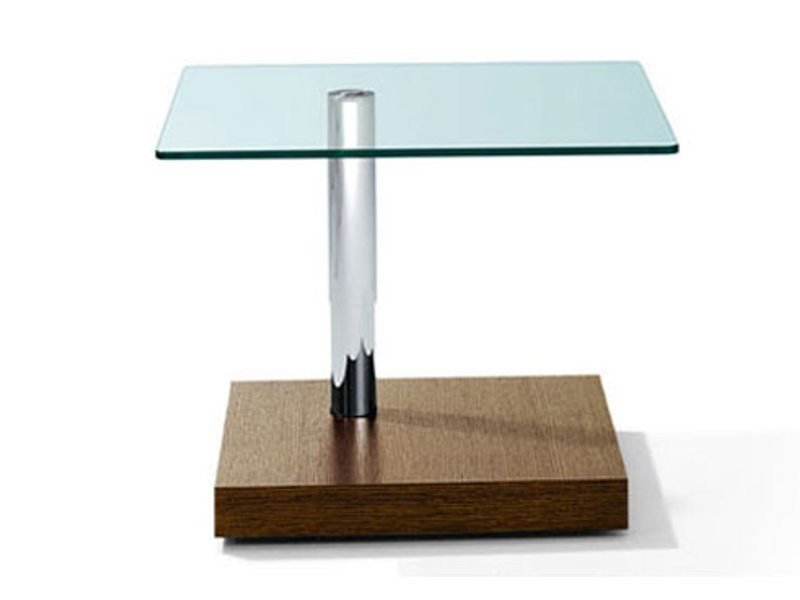 Height-adjustable square coffee table K 433 | Coffee table by Ronald Schmitt
