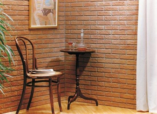 Wandverkleidung aus kunststein mit backstein effekt for Zocalo pared exterior