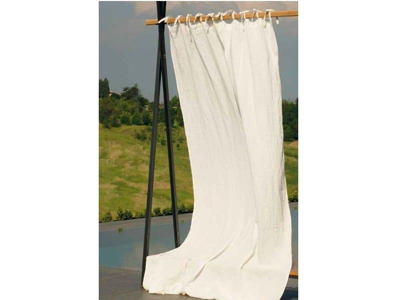Solid-color linen fabric for curtains TESSUTO&PIZZO by LA FABBRICA DEL LINO