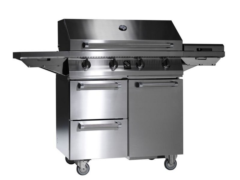 Gas barbecue SWING by Steel